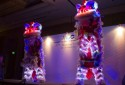 Twin LED Lion Stage Performance - Wenyang LED Lion Dance (Ver.2012)