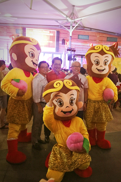 2016 Year Of The Monkey Mascots
