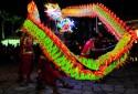 Wenyang Sports Association LED lighted Dragon Dance